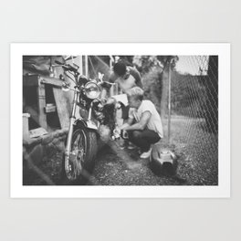 Mumbercycle Art Print