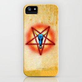 NATIVE PENTAGRAM - 018 iPhone Case