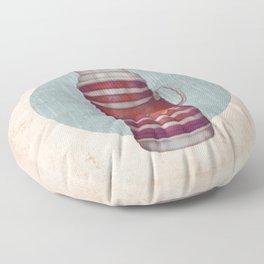 Retro Warm Water Jar Floor Pillow