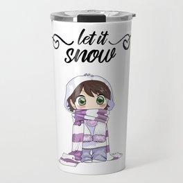 Bundle Up and Let it Snow Travel Mug