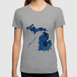 Michigan - wet paint T-shirt