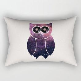 Owl Night Long Rectangular Pillow