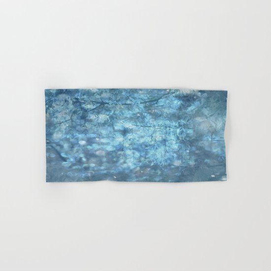 MYSTICAL BLUE WINTER Hand & Bath Towel