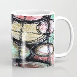 Abstract Ellipsis Coffee Mug