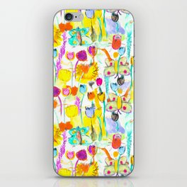 Childhood Butterfly's in a Spring Garden iPhone Skin