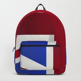 Union Jack Flag Backpack