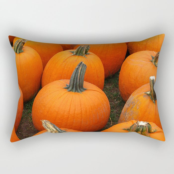 Plenty of Pumpkins! Rectangular Pillow