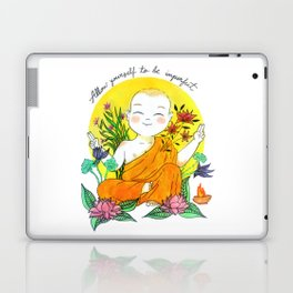 The Buddhist Monk Laptop & iPad Skin