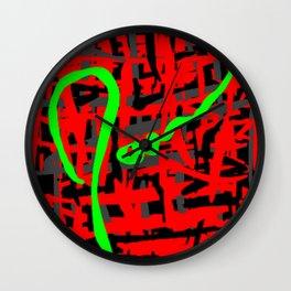 James Eye Wall Clock