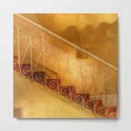 Staircases Metal Print