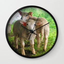 Two small helpers Wall Clock