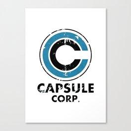 Capsule Corp Vintage bright Canvas Print