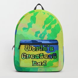 World's Greatest Dad Backpack