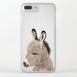 Donkey - Colorful Clear iPhone Case
