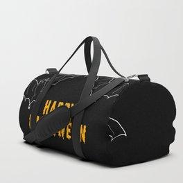 Happy Halloween Bat Duffle Bag