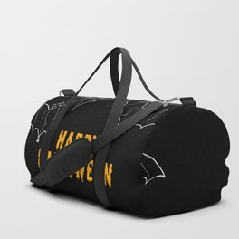 Happy Halloween Bat Duffle Bag