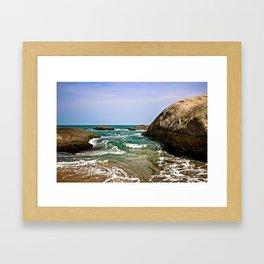 Sri Lankan Beach Framed Art Print