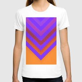 Sunset Chevron T-shirt
