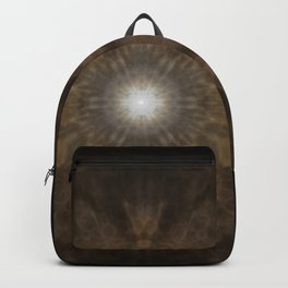 Clouded Coffee Mandala Backpack