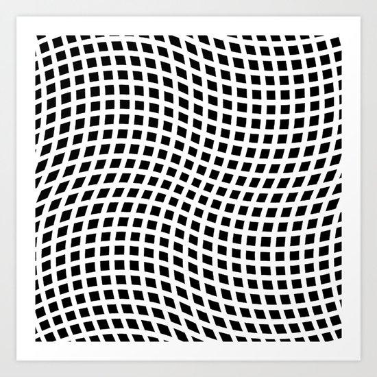 You're Warped! Art Print