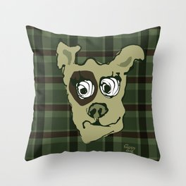 Bandit - hunter Throw Pillow