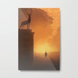 Skyfall Metal Print