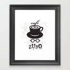 Cafe Zuno Framed Art Print