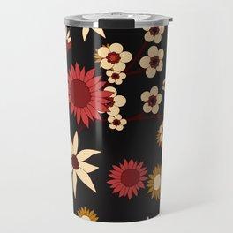Australian Natives Red Blossom Travel Mug