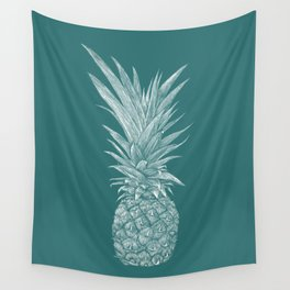 Pineapple : Le Canard Wall Tapestry