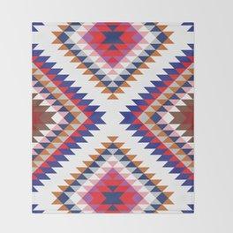 Aztec Rug Throw Blanket