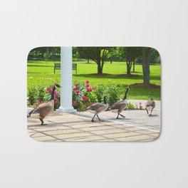 Geese Family Bath Mat