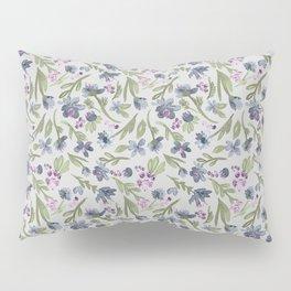 Falling flowers: purple Pillow Sham