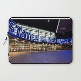 Staten Island Ferry Sign (Image is cropped here) Laptop Sleeve
