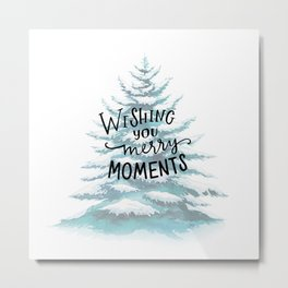 Merry Moments Metal Print