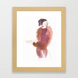 Gloves Framed Art Print