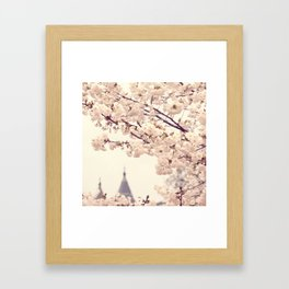 A Dream in Bloom Framed Art Print