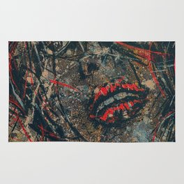 Storm Is Coming Vintage Retro Style Rug