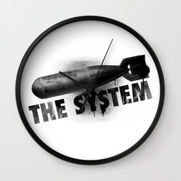 Bomb the System Wall Clock
