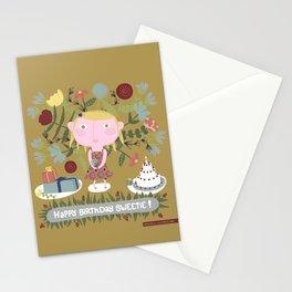 Alice has a birthday - Postcard - Art print Stationery Cards
