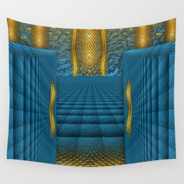 The Temple in my heart   Wall Tapestry