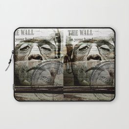The wall in your head... Laptop Sleeve