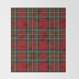 Royal Stewart Tartan Clan Throw Blanket
