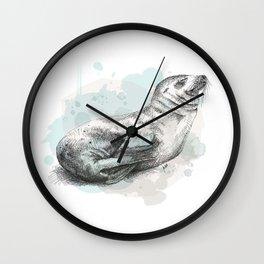 Seal Wall Clock