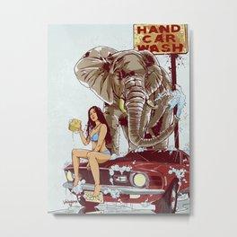 Car Wash Metal Print
