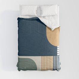 Cool Color Pallette Pattern Comforters