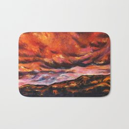 July in New Mexico Bath Mat