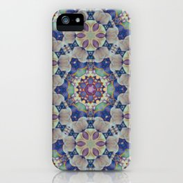 Chakra Flowers iPhone Case