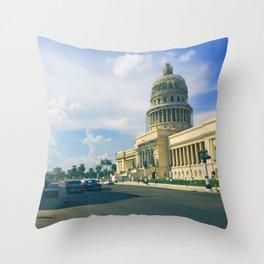Havana Capitol | 2015 Throw Pillow