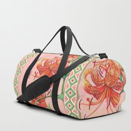 Tiger Lilies Trio Duffle Bag