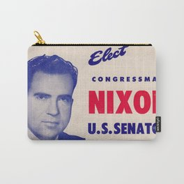 Elect Nixon to Senate Flier Carry-All Pouch